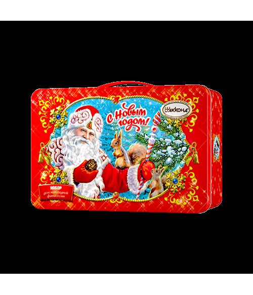 """Новогодний подарок Чемоданчик """"С Новым Годом"""" 800 гр."""