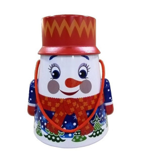 "Новогодний подарок с Магнитиком ""Снеговик"" 500 гр."