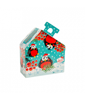 """Новогодний подарок """"Забавные снегири"""" 350 гр."""
