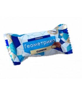 конфеты Геометрика сливки 100 гр.