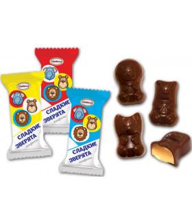 конфеты Сладкие зверята 100 гр.