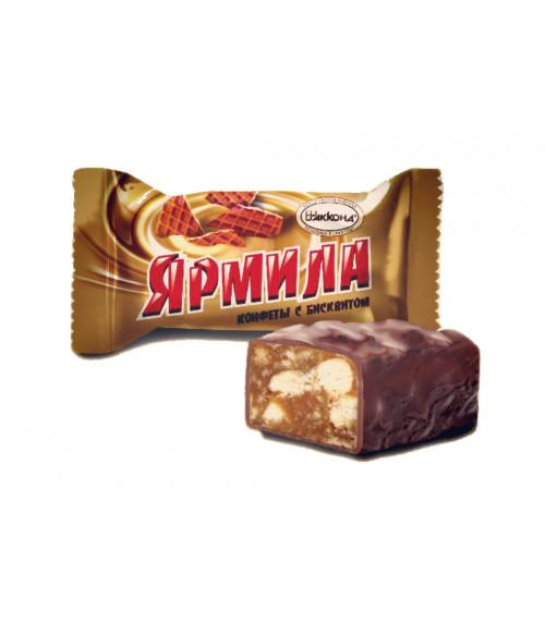 Конфеты Ярмила с бисквитом 100 гр.