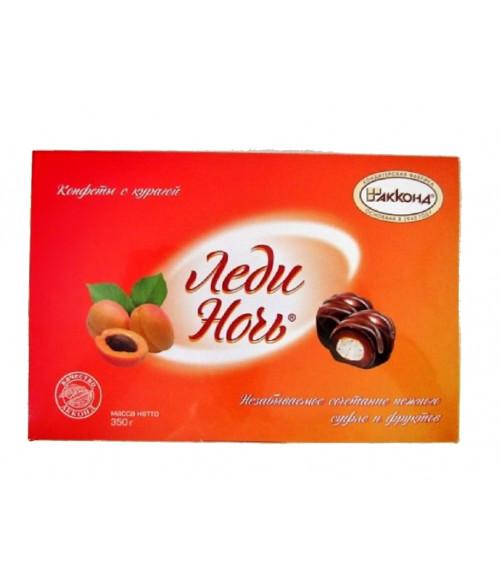 конфеты Леди Ночь с курагой 350 гр.
