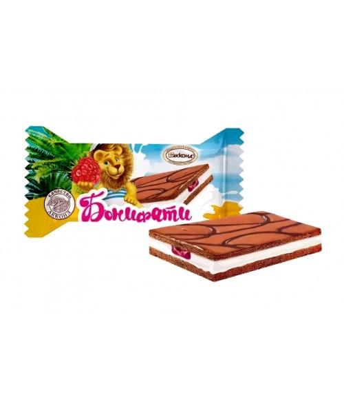 десерт Бонифатти малина 100 гр.