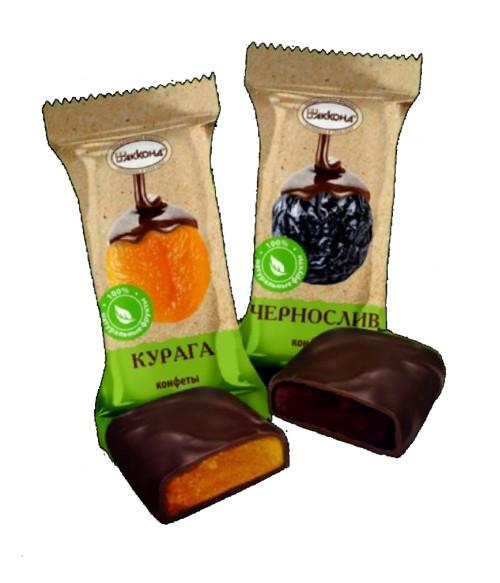 конфеты Чернослив в шоколадной глазури 100 гр.