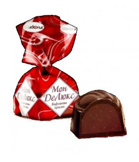 конфеты Монделюкс с вафельным криспи 100 гр.