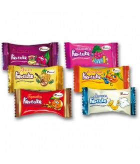 жевательная конфета Капелька микс (11 вкусов) 100 гр.