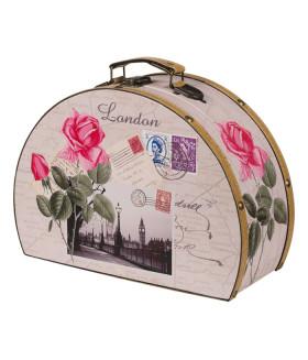 Чемоданчик подарочный с розой