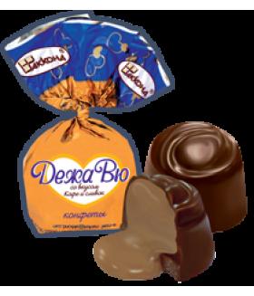 конфеты ДежаВю со вкусом Кофе и сливок 100 гр.
