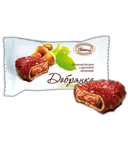 десерт Добрянка фундук 100 гр.