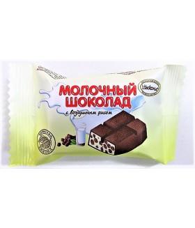 Шоколад молочный с воздушным рисом 100 гр.