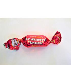конфеты Золотой конёк фундук 100 гр.