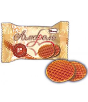 бисквитные вафли Амбрель завернутые 100 гр.