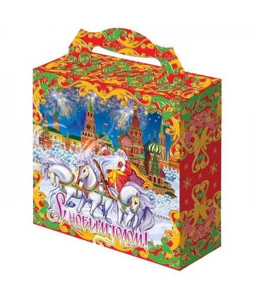 """Новогодний подарок с Магнитиком """"Кремль"""" 500 гр."""