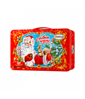 """Новогодний подарок Чемоданчик """"С Новым Годом"""" 770 гр."""