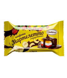 конфеты Мартелетто со вкусом дыня-клубника-сливки 100 гр.
