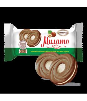 печенье Милато со вкусом лесного ореха 100 гр.