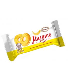 печенье Милато со вкусом банана 100 гр.