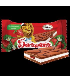 десерт Бонифатти клубника 100 гр.
