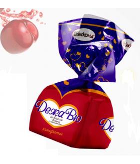 конфеты ДежаВю коньяк со вкусом вишни 100 гр.