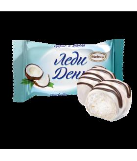 конфеты Леди День с кокосом 100 гр.