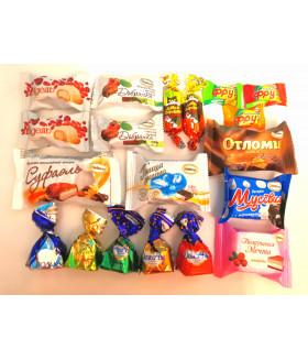 """Подарок """"Пожелание"""" набор конфет 350 грамм"""