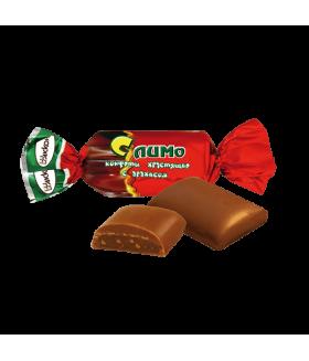 конфеты Слимо хрустящие с арахисом 100 гр.