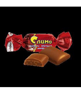 конфеты Слимо хрустящие с миндалём 100 гр.