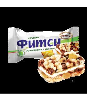 конфеты Фитси (Fitsy) мультизлаки и цукаты 100 гр.