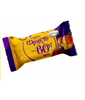конфеты Фрукто-ВО с абрикосовой начинкой 100 гр.