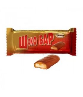 конфеты Шоко Бар с печеньем и карамелью