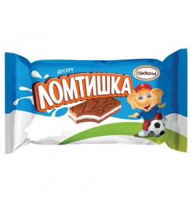десерт Ломтишка молоко 100 гр.