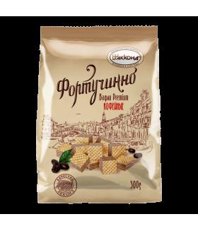 вафли Фортучинно кофейные 300 гр.