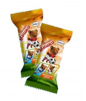 конфеты Звёздный мишка с арахисовой пастой 100 гр.