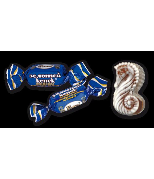 конфеты Золотой конёк какао 100 гр.