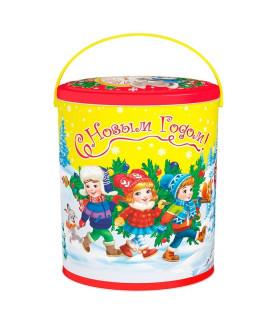 """Новогодний подарок с Магнитиком  """"Новогоднее настроение"""" 700 гр."""
