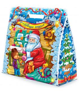 """Новогодний подарок с Магнитиком  """"Новогодняя сумка"""" 700 гр."""
