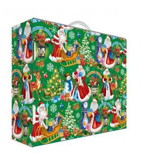 """Новогодний подарок с Магнитиком  """"Чемоданчик от Деда Мороза"""" 1000 гр."""