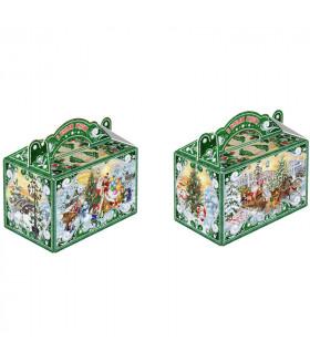 """Новогодний подарок с Магнитиком  """"Праздник с Дедом Морозом"""" 1000 гр."""