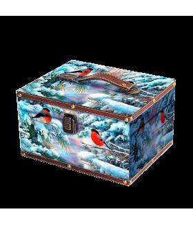 """Новогодний подарок """"Сундучок Зимолюбка"""" 500 гр."""