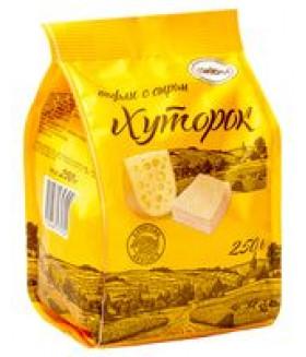 вафли Хуторок с сыром 250 гр.
